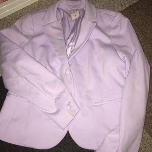 Purple blazer size 10